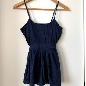 American Eagle Blue Tank Top Size S